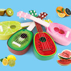 small toy guitar - Kid Children Fruit Ukelele 4 Strings Small Guitar Musical Instrument Toy Gift US