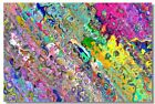 Poster Psychedelic Trippy Colorful Ttrippy Surreal Abstract Astral Art Print 42