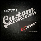 CVO Custom VAG Owners group stickers