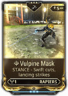 Warframe Rare Melee Stance Mods Maxed (PS4)