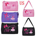 Внешний вид - Girls Kids Ballet Dance Bags Handbag Tote Duffel Swim Shoulder Bag Embroidered