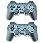 Pack of 2 New Wireless Bluetooth Game Controllers for SONY Playstation 3 PS3