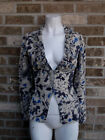 Women's Anthropoloige Tabitha 100% Wool top / Cardigan / Blazer Jacket Sz XS