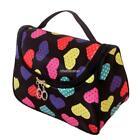 Travel Cosmetic Bag Case Heart Print Organizer Makeup Beauty Brush N98B 01