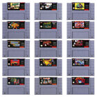 Video Game Card Cartridge SNES Super Nintendo USA Version