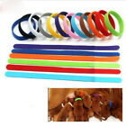 New 12-colors Identification ID Collars Bands Whelping Puppy Kitten Dog Pets Cat