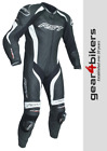 RST Tractech Evo 3 CE One Piece WHITE Motorcycle Leather Suit Track Race 1 2041