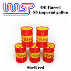 WASP 55 gallon drums, 1/32 scale, various designs, slot car track scenery