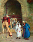 """JEAN-LEON GEROME """"Dispute d'Arabes"""" middle east camel various SIZES, BRAND NEW"""