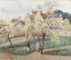"""CAMILLE PISSARRO """"Plum Trees In Blossom"""" print NEW choose SIZE, from 55cm up"""