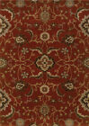Red Traditional - Persian/Oriental Vines Area Rug Floral 4471B