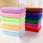 Microfibre Towel Fast Drying Travel Gym Camping Sport Footy Hand Face Soft USA