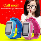 Q90 GPS Touch Smart Watch Wristwatch Call Finder Tracker Anti Lost Safe Security