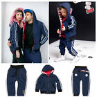 FAMILY CLOTHING  BLUE BILL TRACKSUIT by ZOMBIE DASH FOR MUM DAD KIDS