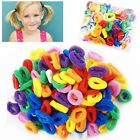50 Mini Hair Ponios Ponios Endless Elastics Bobbles Bands Baby Girl Hair Bands