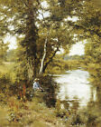 "EDWARD WILKINS WAITE ""Brook He Loved"" CANVAS/PAPER ! various SIZES available"
