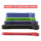 Premium Latex Rubber Chin-up Assistance Mobility Exercise Thick Resistance Bands image