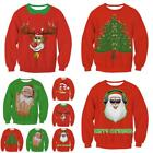 elderly incontinence products - Hot Products Female Size  Women or Man Casual Merry Christmas Family Sweater