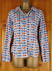 NEW EX SEASALT LADIES COTTON ROLL SLEEVE TOP SHIRT BLOUSE SIZE 8 10 12 14 16 18