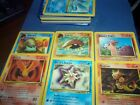 POKEMON SIX BASIC POKE'MON CARDS