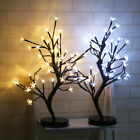 LED Cherry Blossom Desk Bonsai Tree Light Table Twig Light Home Party Decoration