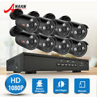 ANRAN IP 4CH/8CH 1080P HD NVR POE Home Security Camera System Outdoor CCTV Kits