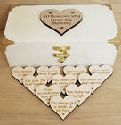 PERSONALISED MOTHERS DAY GIFT 10 REASONS WHY I LOVE YOU WOODEN BOX OR 20 REASONS