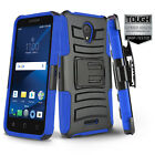 REFINED COVER PHONE CASE & HOLSTER CLIP FOR [ALCATEL RAVEN LTE] +TEMPERED GLASS
