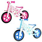 'Wooden Balance Bike Kids Running Walking Lightweight Training Bikes Blue Pink