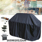 64'' Black BBQ Grill Barbecue Waterproof Cover Yard Outdoor Duty Rain Protection