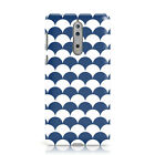 DYEFOR NEW SMALL NAVY BLUE SCALE PATTERN PRINT PHONE CASE COVER FOR NOKIA