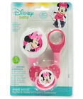 Disney Minnie Mouse Pacifier & Clip Set