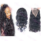 360 Lace Frontal Closure body wave 100%Virgin Brazilian Hair Lace Band Frontal