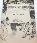 "1915 RACIST / INAPPROPRIATE AUSTRALIAN ISSUED SHEET MUSIC ""THE JOLLY DARKIES"""