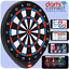 Darts Connect Ultimate Online Soft Tip Dartboard  Built In Camera play via Wi-Fi