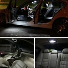 8pcs Xenon White Bulb LED Llights Interior Package Kit 2001-2003 Acura CL AC1W
