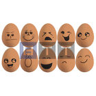 Smiley Face Bouncy Fake Egg Rubber Balls Egg Jet Ball Party Bag Joke Fun 5.4cm