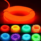 Внешний вид - LED EL Wire Neon Glow String Strip Light Rope Controller Car Decor Dance Party