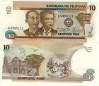 PHILIPPINES ticket new 10 PISO Pick187i CREATION REPUBLIC PACTE BLOOD 2001