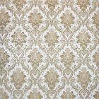Wallpaper Rolls white beige Victorian Vintage damask wall coverings textured 3D