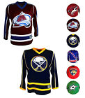 NHL Men's Embroidered Practice Hockey Jersey [AZ BUF COL DAL FL NJ NYR] $30.00 USD on eBay
