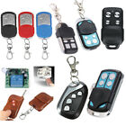 315/433MHz Universal Clone Remote Control Key Fob Electric Gate Garage Door New