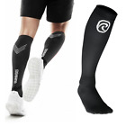Rehband Rx Compression Socks Black PAIR Protection Running CrossFit OCR Sports