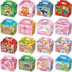 Party Boxes -Themed Character Food Loot Treat Box - 16 Designs - Choose Quantity