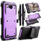 ZTE Grand X3 case,Rugged Armor Back Cover in Kickstand for ZTE Blade Warp7/N9519