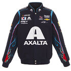 2018 William Byron JH Design Axalta Full Snap Twill Uniform Jacket Navy