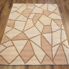 BEST QUALITY DESIGNER HARLEQUIN NATURAL COLOUR FACET RUG CLEARANCE DISCOUNT SALE