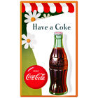 Coca-Cola Daisies Have a Coke Wall Decal Vintage Style Coke $19.99  on eBay