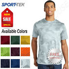 Sport Tek Mens Dry Fit Camo Moisture Wicking Performance Workout T Shirt M ST370