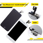 LCD Touch Screen Replacement with Home Button + Camera For iPhone 6 A1586 A1549